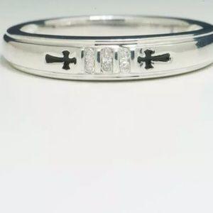 Stunning .68ctw Genuine H-VVSI Diamond .925